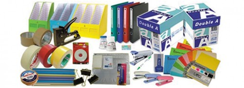 Stationery  and office equipment